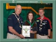 Scout Medallion Stage Souvenir  Shots